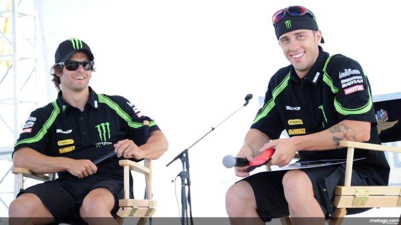 Крачлоу и Довициозо - пилоты Yamaha Tech 3 (MotoGP 2012)