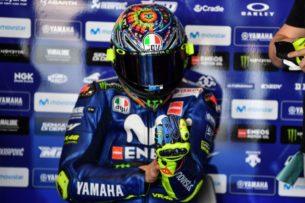 Валентино Росси, шлем 2018, предсезонье