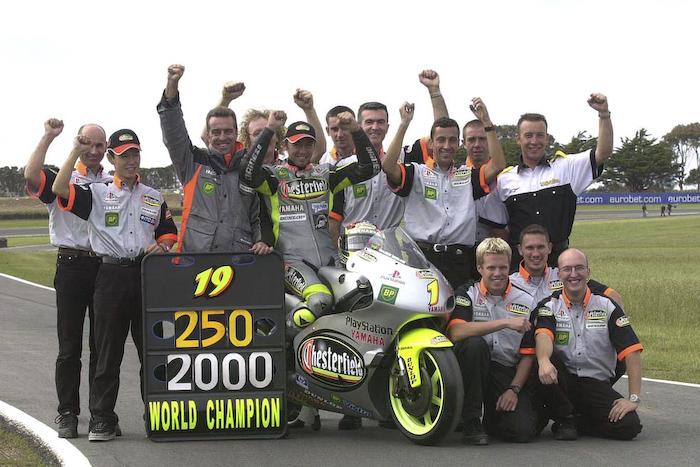 Оливье Жак - чемпион GP250 (2000)