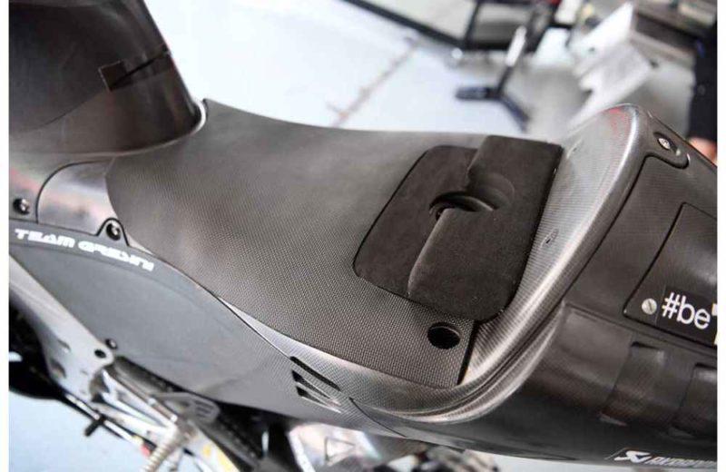 Топливная горловина на Aprilia RS-GP 2018