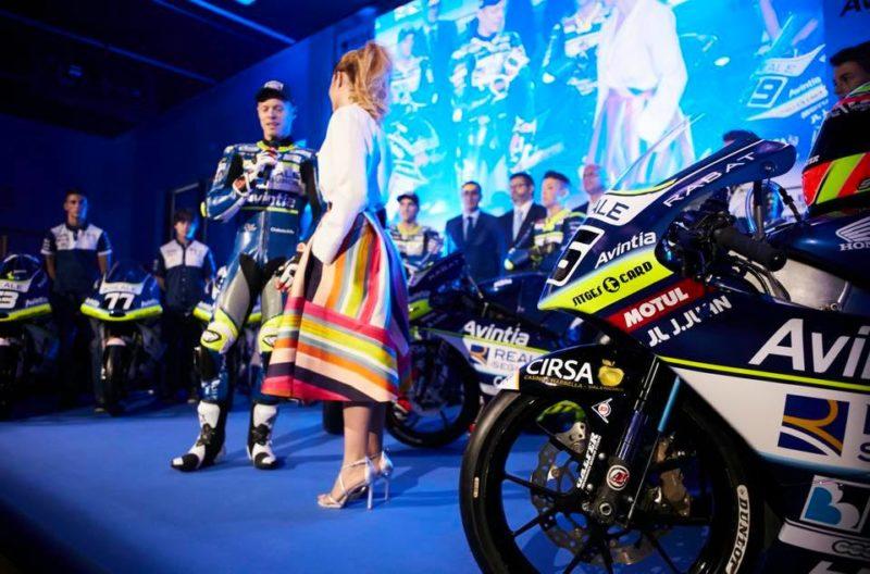 Рабат на презентации Reale Avintia Racing 2018