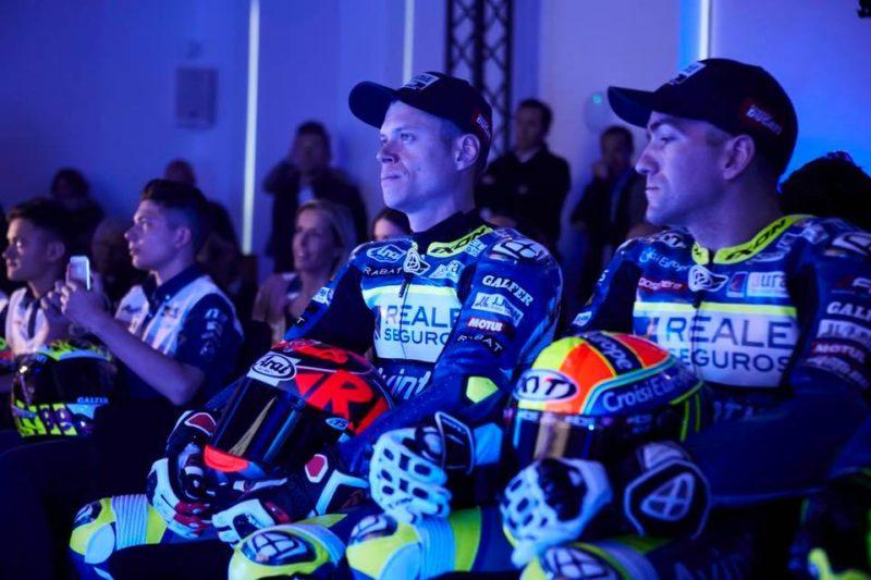 Рабат и Симеон на презентации Reale Avintia Racing 2018