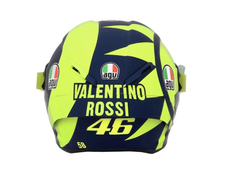 Шлем Валентино Росси для сезона 2018