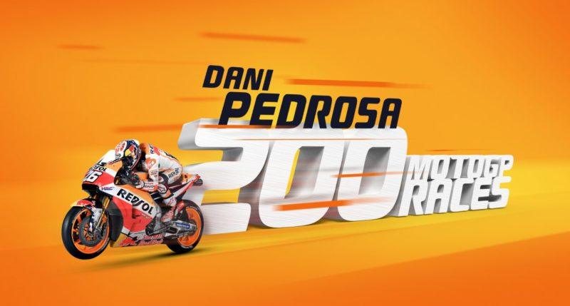 ГП Катара 2018 - 200 гонка MotoGP Дани Педросы
