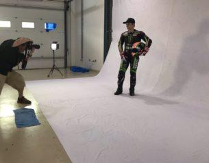 Жоанн Зарко на фотосессии Yamaha Tech 3 2018