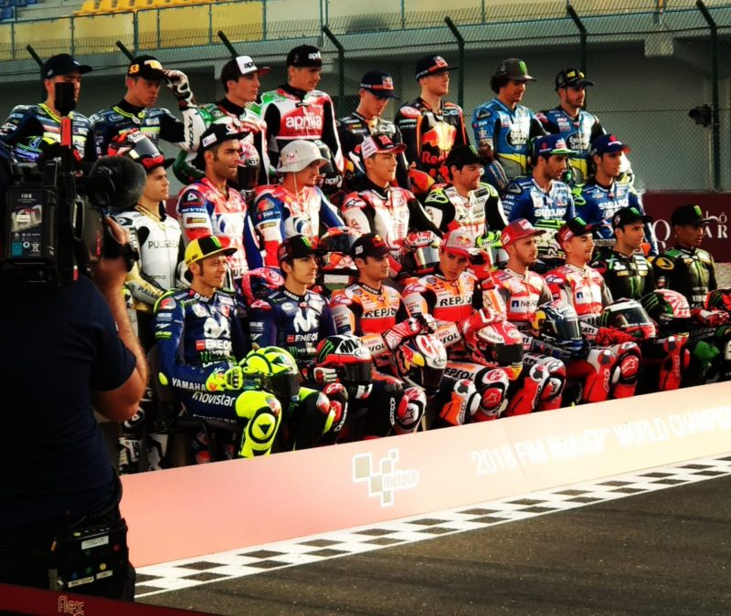Участники чемпионата MotoGP 2018