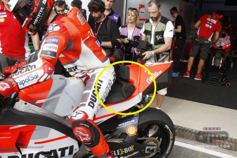 Спецседло на Ducati Хорхе Лоренсо (Лосаил, 2018)