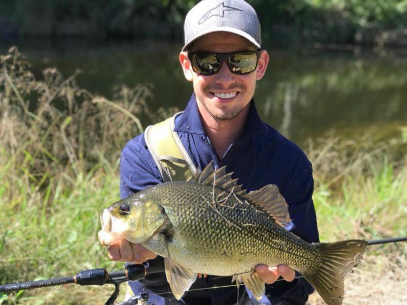 Кейси Стоунер на рыбалке (2018)