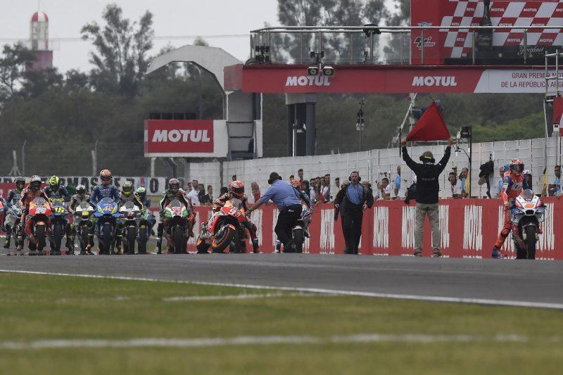 Старт Гран-При Аргентины 2018