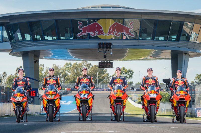 Гонщики КТМ всех классов в сезоне MotoGP 2018