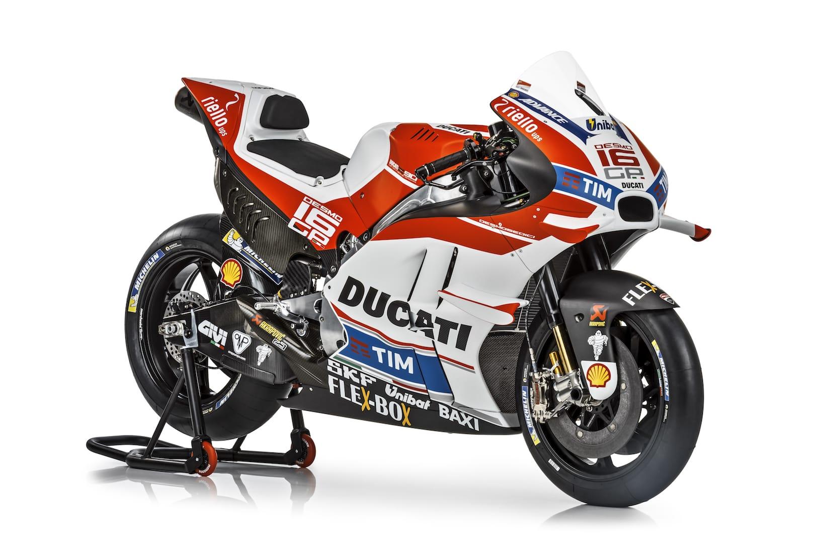 Фотогалерея: Ducati Desmosedici GP 2016