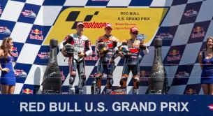 Подиум MotoGP Гран-При США 2011