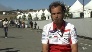 менеджер команды Ducati Витториано Гуарески