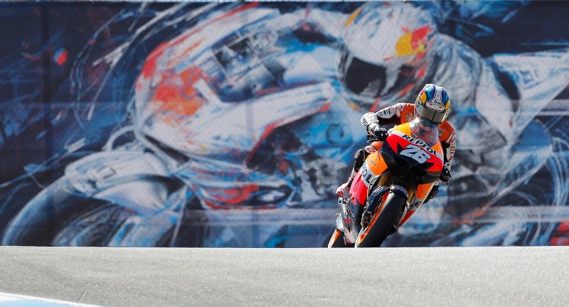 Дани Педроса MotoGP Гран-При США 2012