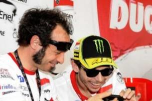 Витториано Гуарески и Валентино Росси, Ducati