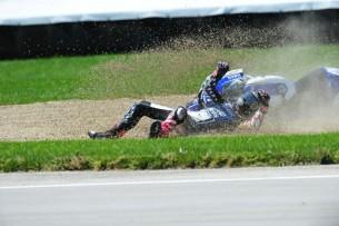 Падение Бэна Списа квалификация Гран-При Индианаполиса 2012