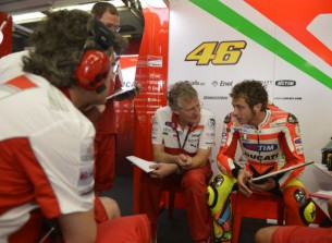Валентино Росси, Джереми Берджесс, Ducati Team