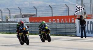 Андреа Довициозо и Кэл Кратчлоу, пилоты Monster Yamaha Tech 3