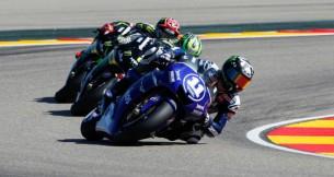 гонщик Yamaha Factory Racing Бэн Спис