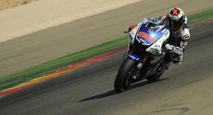 Хорхе Лоренцо тест Арагон MotoGP 2012