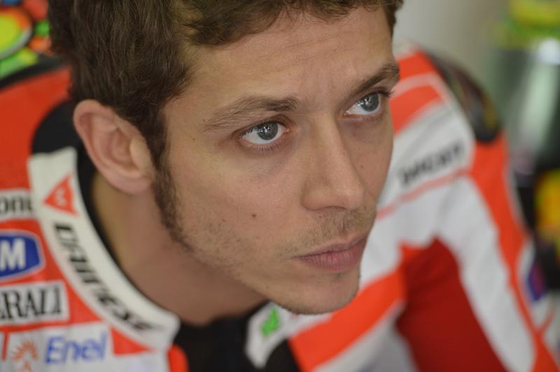 Валентино Росси, гонщик заводской команды Ducati MotoGP