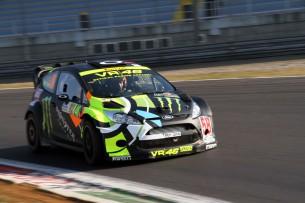 Валентино Росси в Monza Rally Show