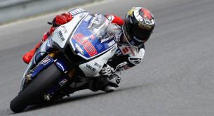 Пилот Yamaha Factory Racing Хорхе Лоренцо