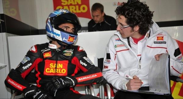 Гонщик MotoGP Микеле Пирро