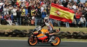 Марк Маркес, чемпион Moto2 2012