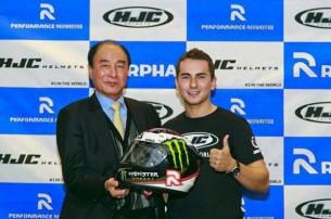 Хорхе Лоренцо представил новый шлем