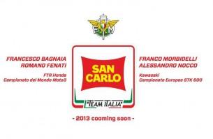 San Carlo будет спонсировать молодую итальянскую команду