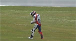 Падение Хорхе Лоренцо Гран-При Нидерландов 2013