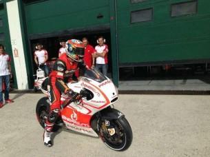 Алекс Де Анджелис на Ducati в Мизано