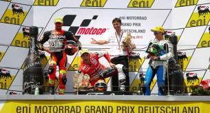 Результаты гонки Moto2 Гран-При Германии 2013