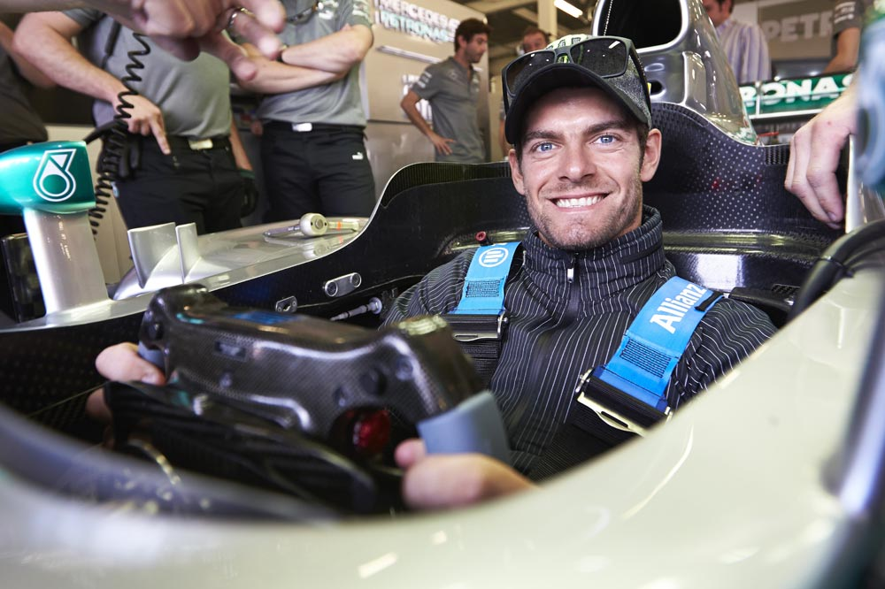 Кэл Кратчлоу на этапе Formula 1 2013