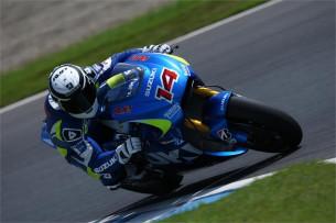 Suzuki завершила двухдневные тесты прототипа MotoGP в Мотеги