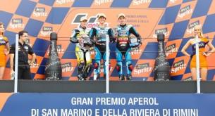 Подиум Moto3 Гран-При Сан-Марино