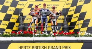 Результаты гонки MotoGP Гран-При Великобритании 2013