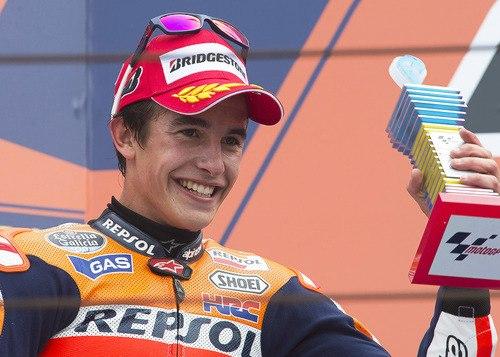 Марк Маркес, гонщик чемпионата мира MotoGP