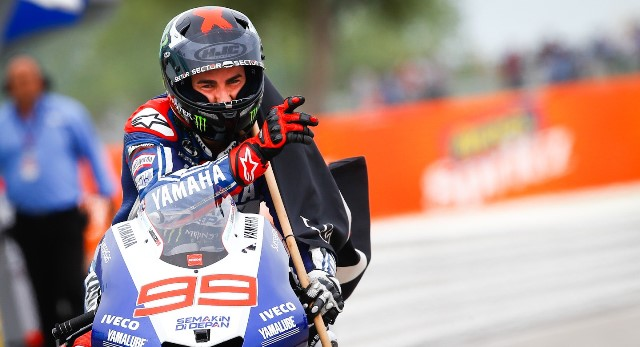 Хорхе Лоренцо Yamaha MotoGP 2013