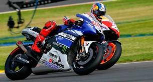 Дани Педроса и Хорхе Лоренцо Гран-При Валенсии MotoGP 2013