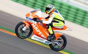 Лука Марини протестировал мотоцикл KTM Kalex