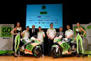 Презентация команды GO&FUN Honda Gresini