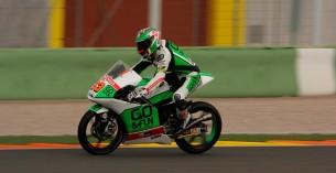 Никколо Антонелли. Тесты Moto3 2014 в Валенсии