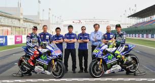 Презентация новой раскраски заводской команды Movistar Yamaha MotoGP
