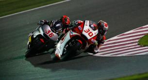 Такааки Накагами и Мика Каллио, Moto2 2014