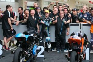 команда чемпионата мира Moto3 Валентино Росси Team SKY-VR46