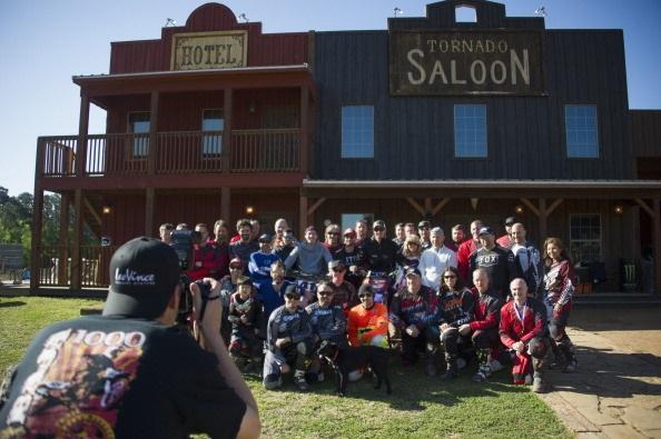 Команда NGM Forward Racing посетила лагерь Колина Эдвардса