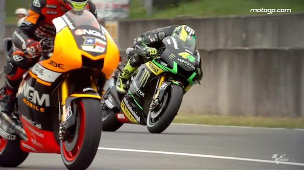 MotoGP Гран-При Италии 2014: Slow motion