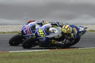 Валентино Росси и Хорхе Лоренцо, Movistar Yamaha MotoGP, 2014